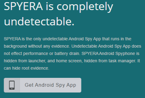 Spyera Android Spy App