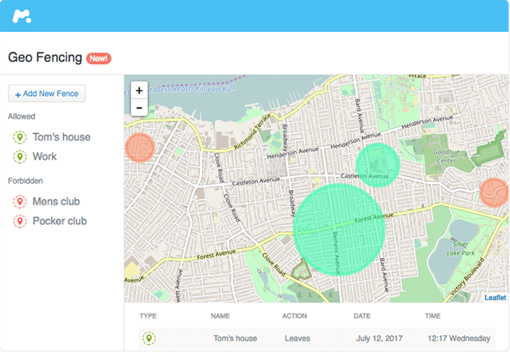 geofence app iphone android