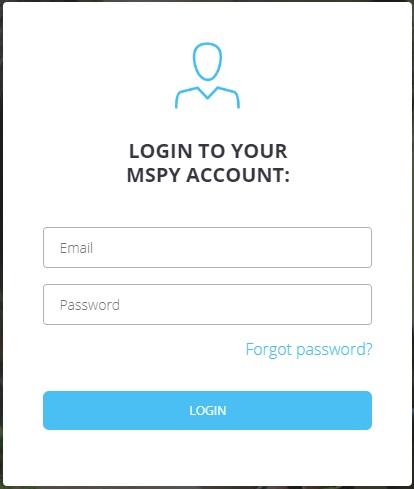 mspy login free