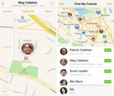 find my friends location tracking
