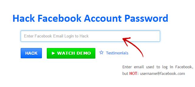 hack facebook account online free