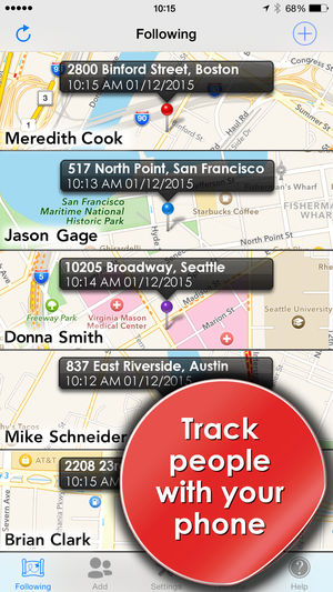 track your childs phone with tracker app